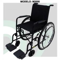 Cadeira de Rodas Mod. M2000 Pneu Inflável